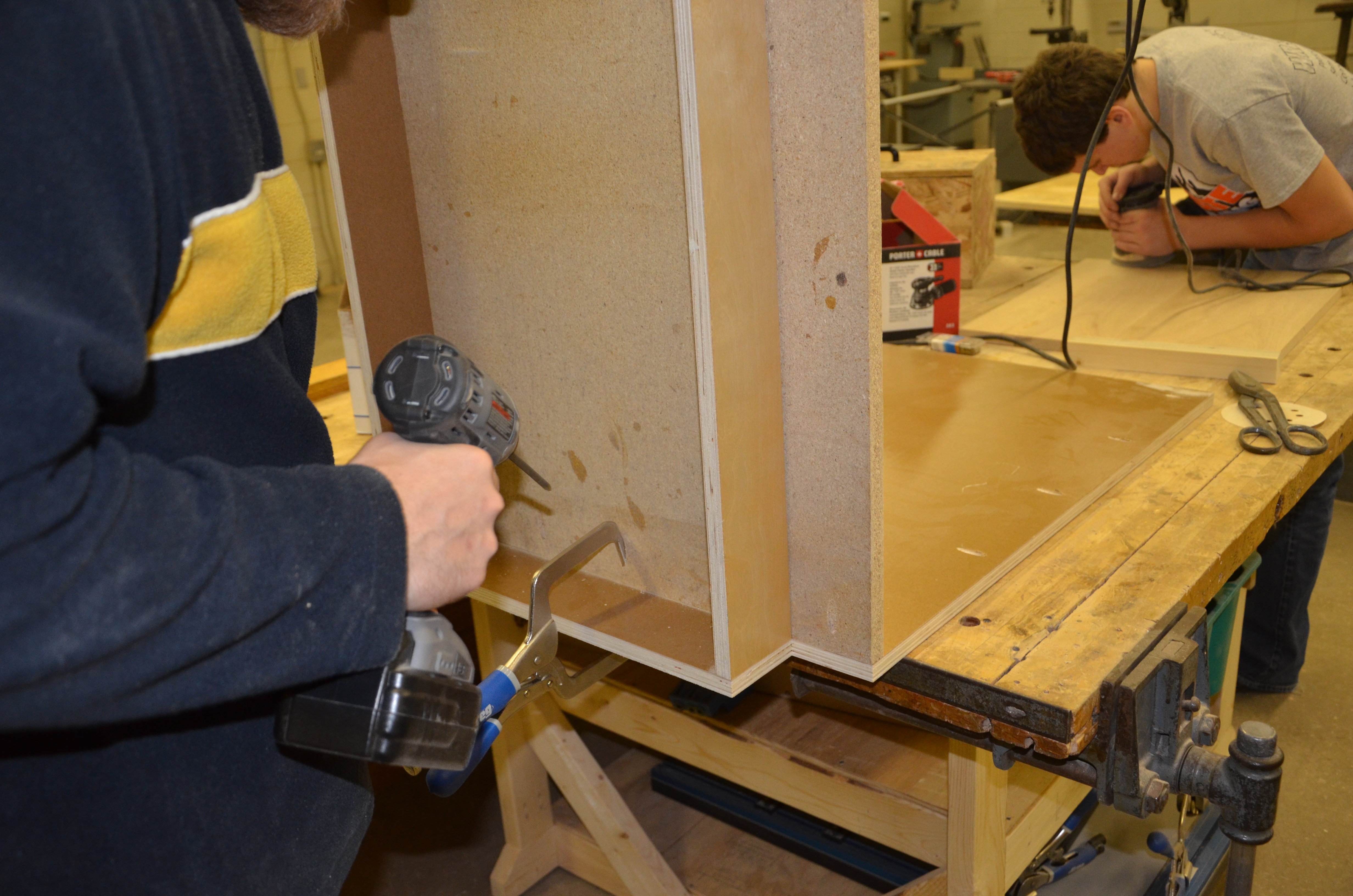 Picture of Assemble the Cabinet Carcass