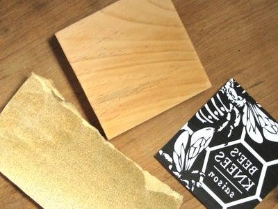 Prepare Your Carving Block
