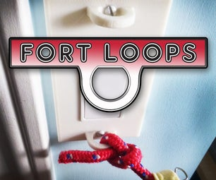 How to Build a Fort Using 3d Printed Fort Loops