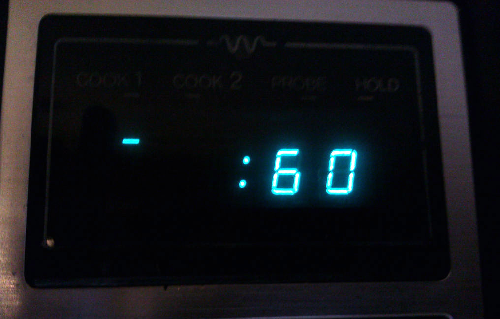 Picture of Microwave Oven - .1621 Cents, 1 Minute