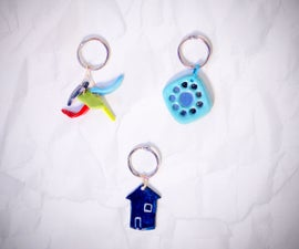 DIY Crafts : How To Make Clay Keychains
