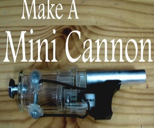 How to Make a Mini Cannon from a BBQ Lighter