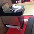 Espresso / single brew coffee machine auto water filler