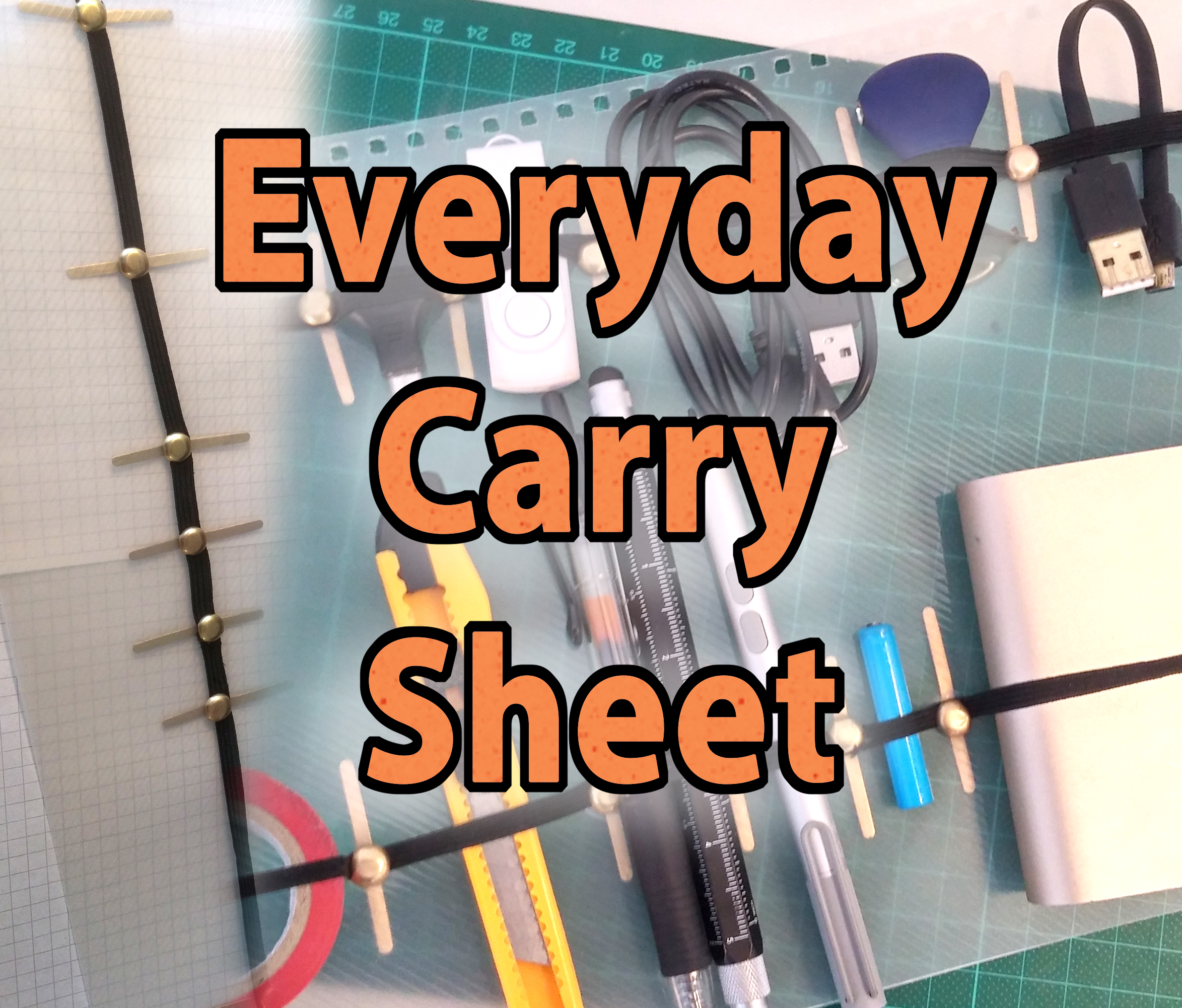 Picture of Everyday Carry Sheet - EDC