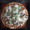15 min tortilla pizza