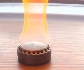 How to Make a MICRO POCKET BURNER in 2 Minutes