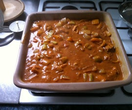Chicken and Peanut Butter Curry