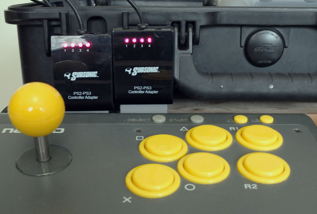 Picture of UPDATE: 1996 Namco Arcade Stick Working Fine With Street Fighter V