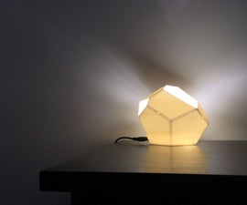 Low-Poly Geometric Lamp