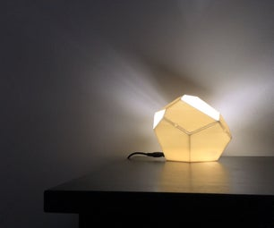 Low-Poly Geometric Lamp