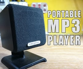 Convert Old Speaker Into a Portable MP3 Player