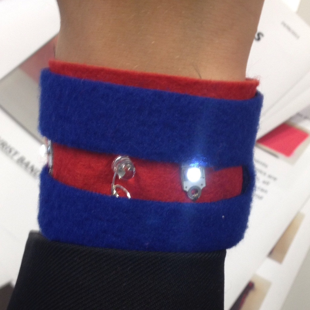 Picture of ETextile Wristband