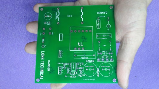 Solder the Component, Some Thing About 750W 24V DC Motor Speed Controler