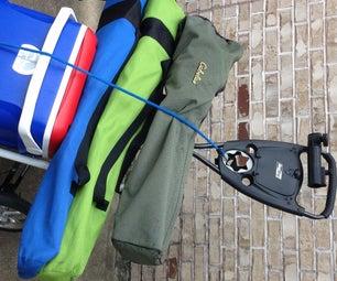 Folding Outdoor Dolly / Pull Cart / Gear Hauler