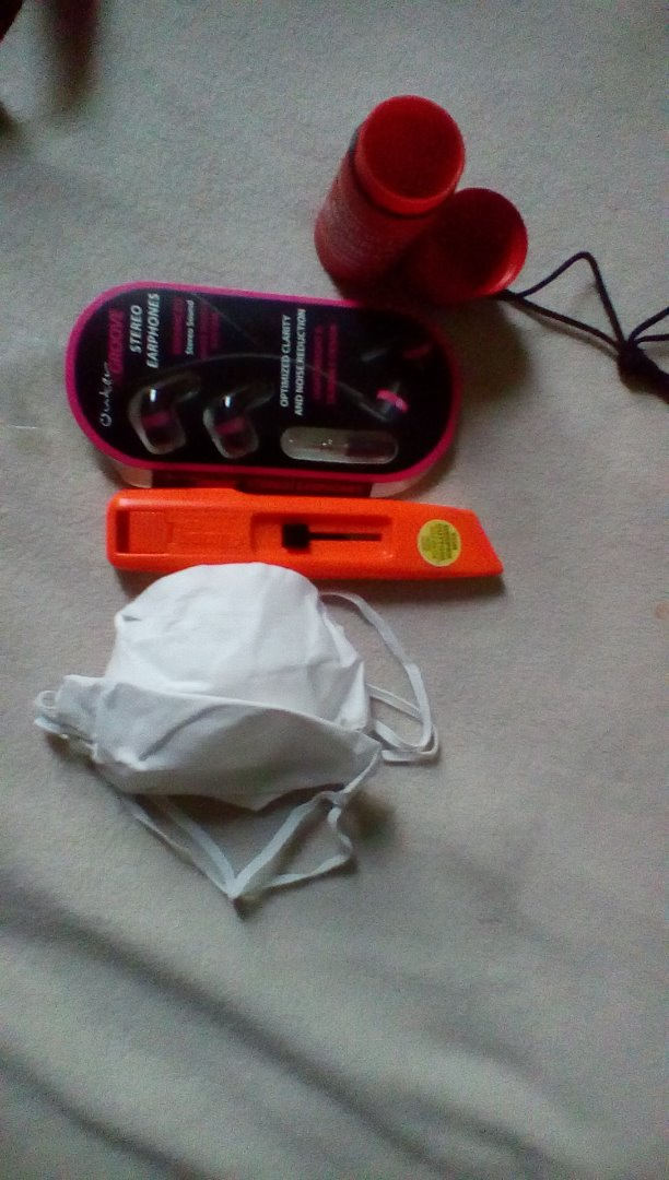 Picture of Music, Mask, Box Cutter