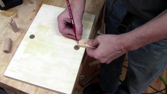 Mark the Position of the Screws