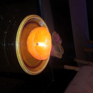 Orange Candle