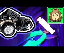 5$ Homemade UV LED Headlamp How To. (Super Powerful!!)