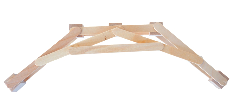 Picture of Reinforcing Trusses + Bowstring Hook