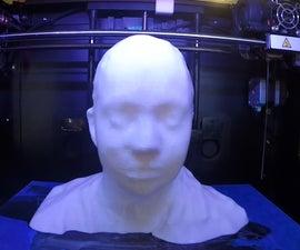 3D Bust for Blind Deaf Mother