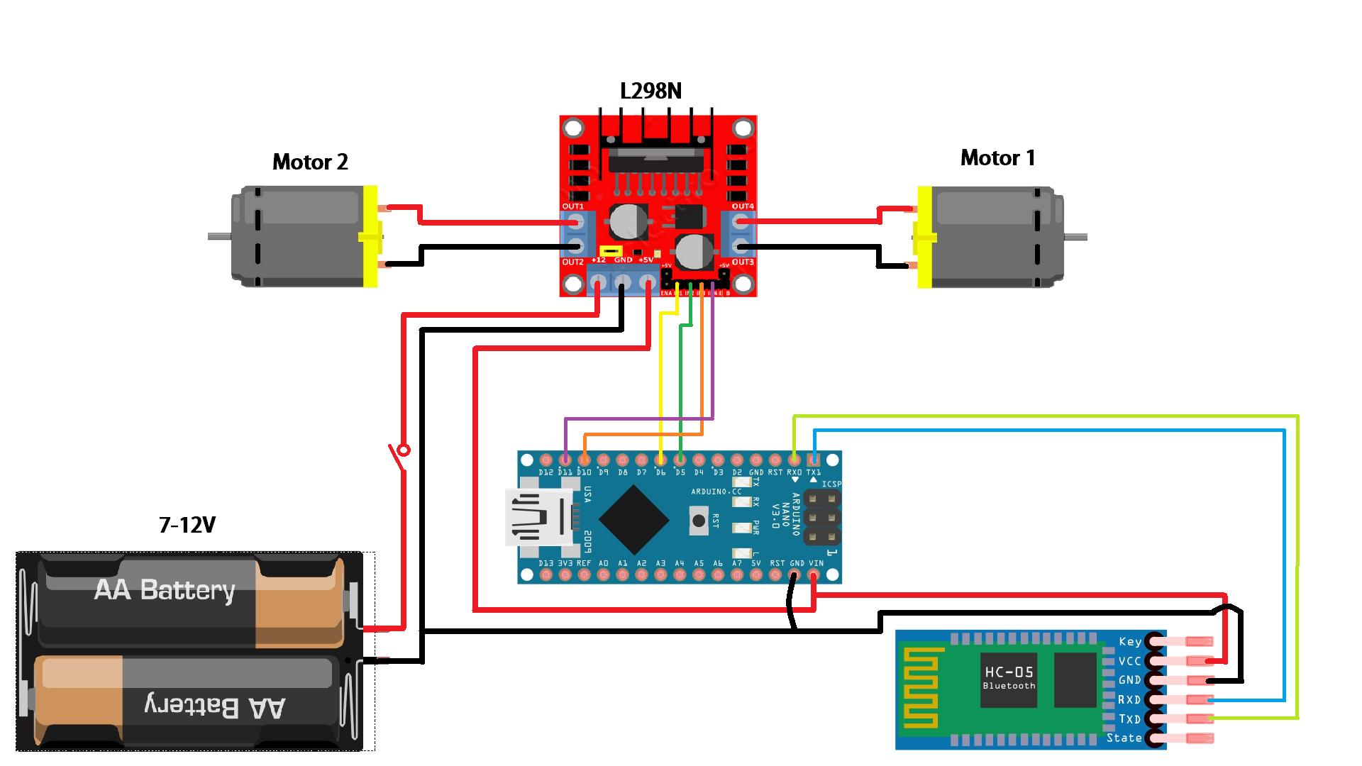 Picture of Wiring Diagram/Circuit Diagram