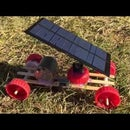 How to Make a Mini Solar Powered Car - Easy to Build