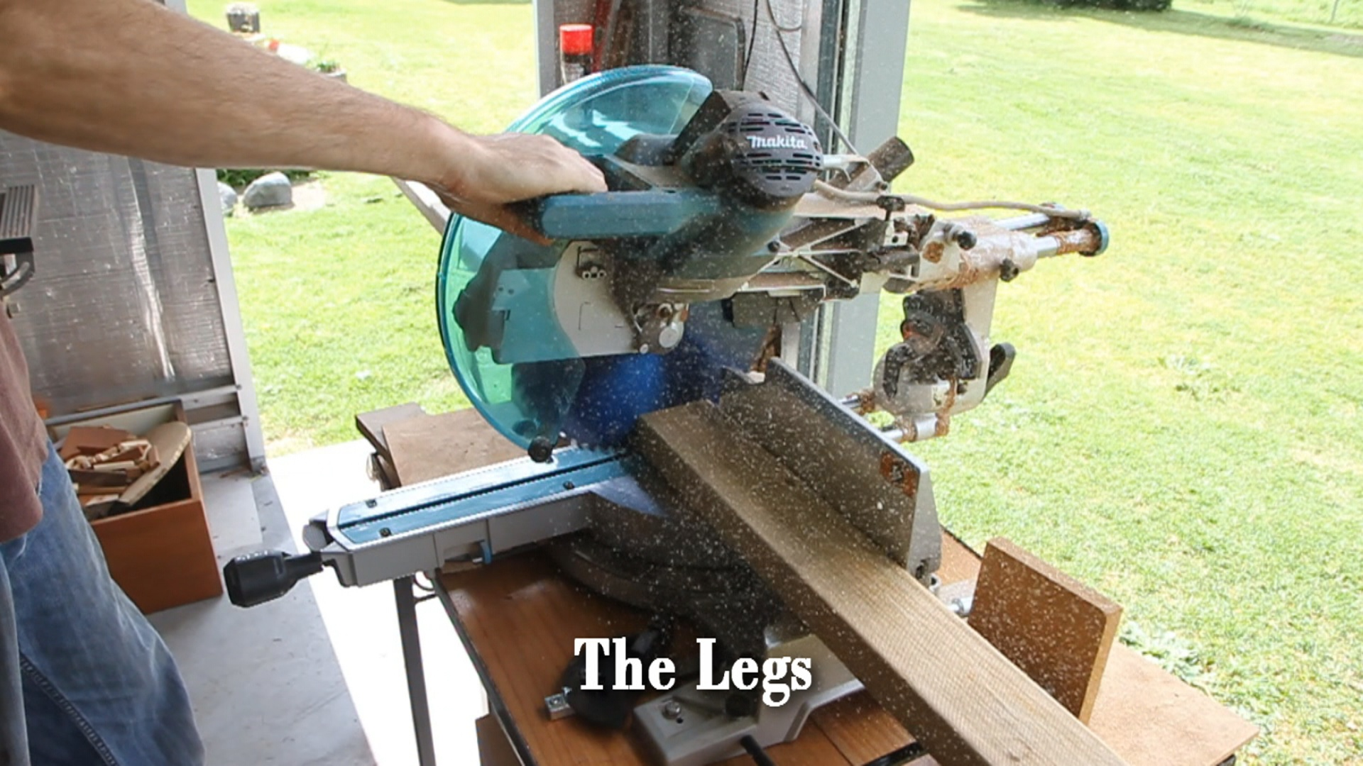 Picture of Making the Legs