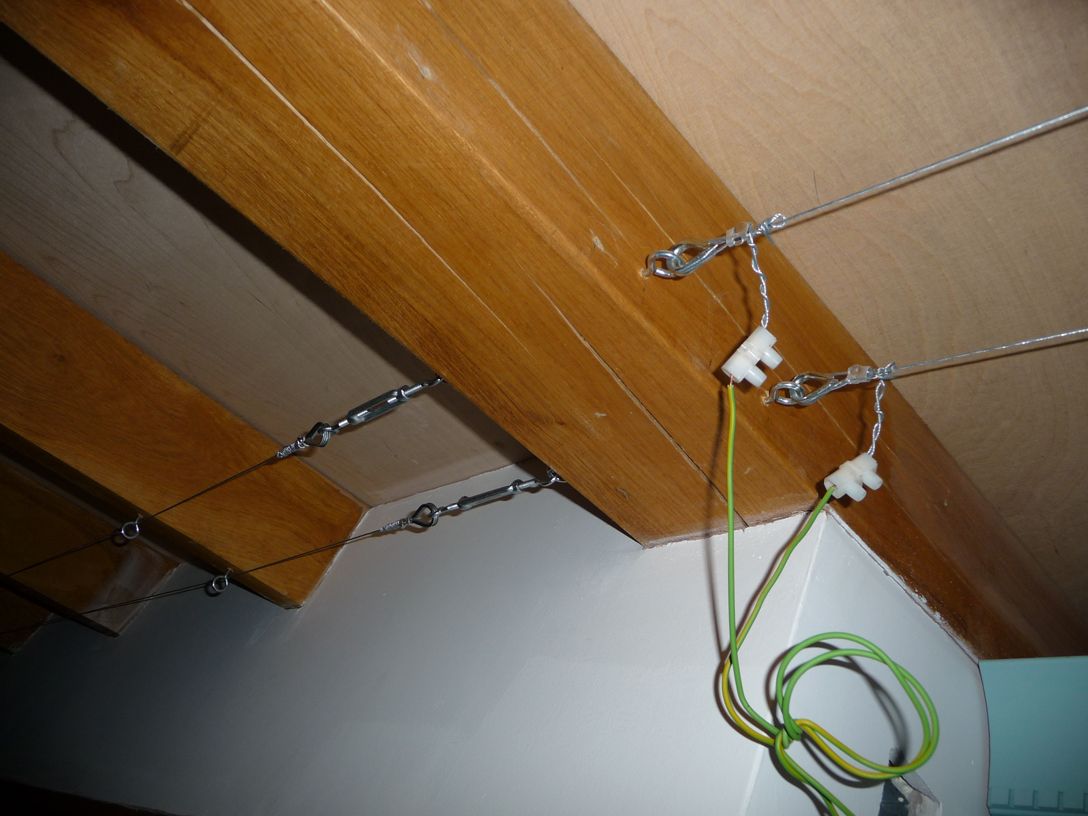 Picture of 12v DC Trapeze Lighting for Not Much Cash