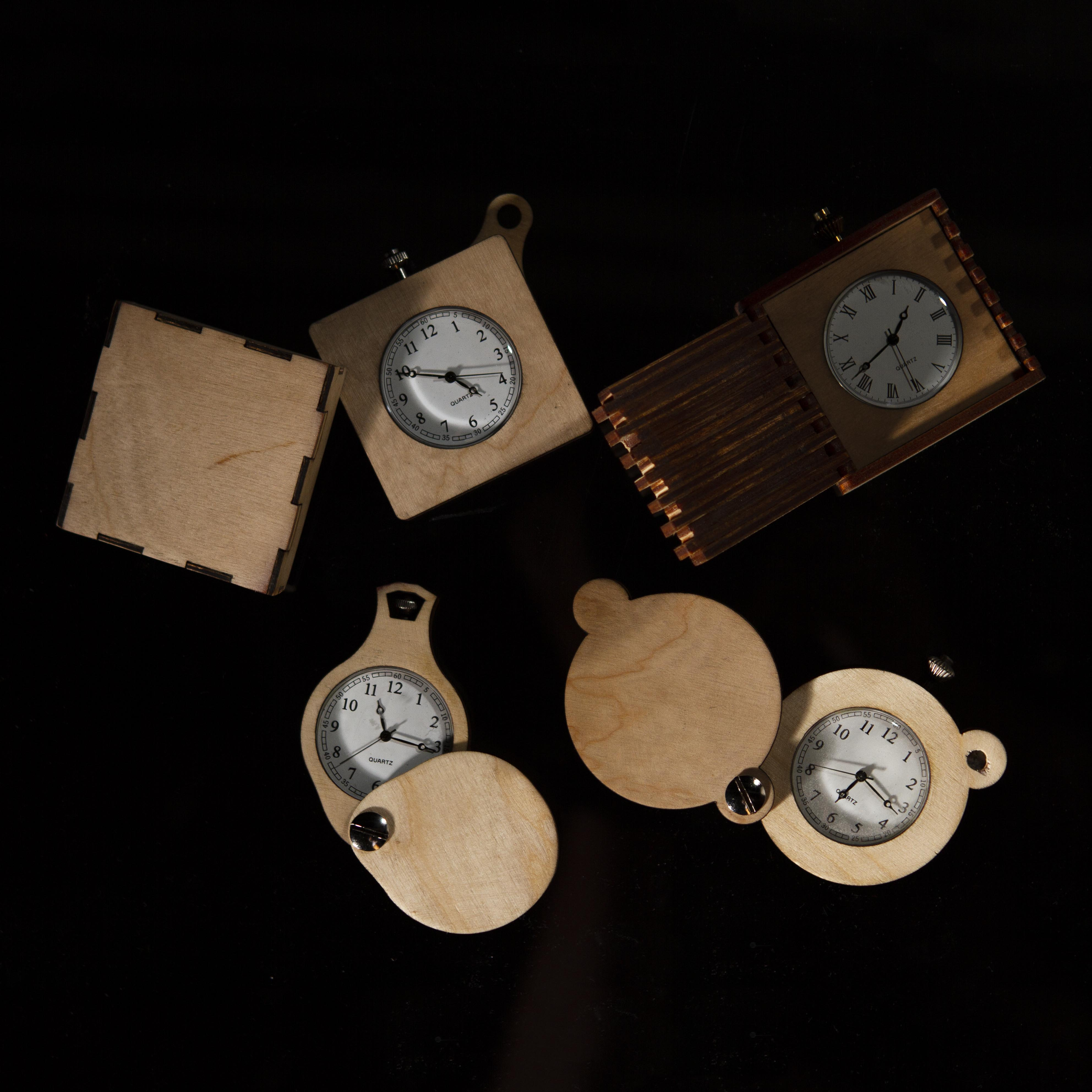 Picture of Laser Cut Pocket Watches