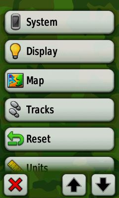Picture of Make Sure the GPS Is Recording Tracks and Set Colour