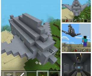 Minecraft- Fighter Jet