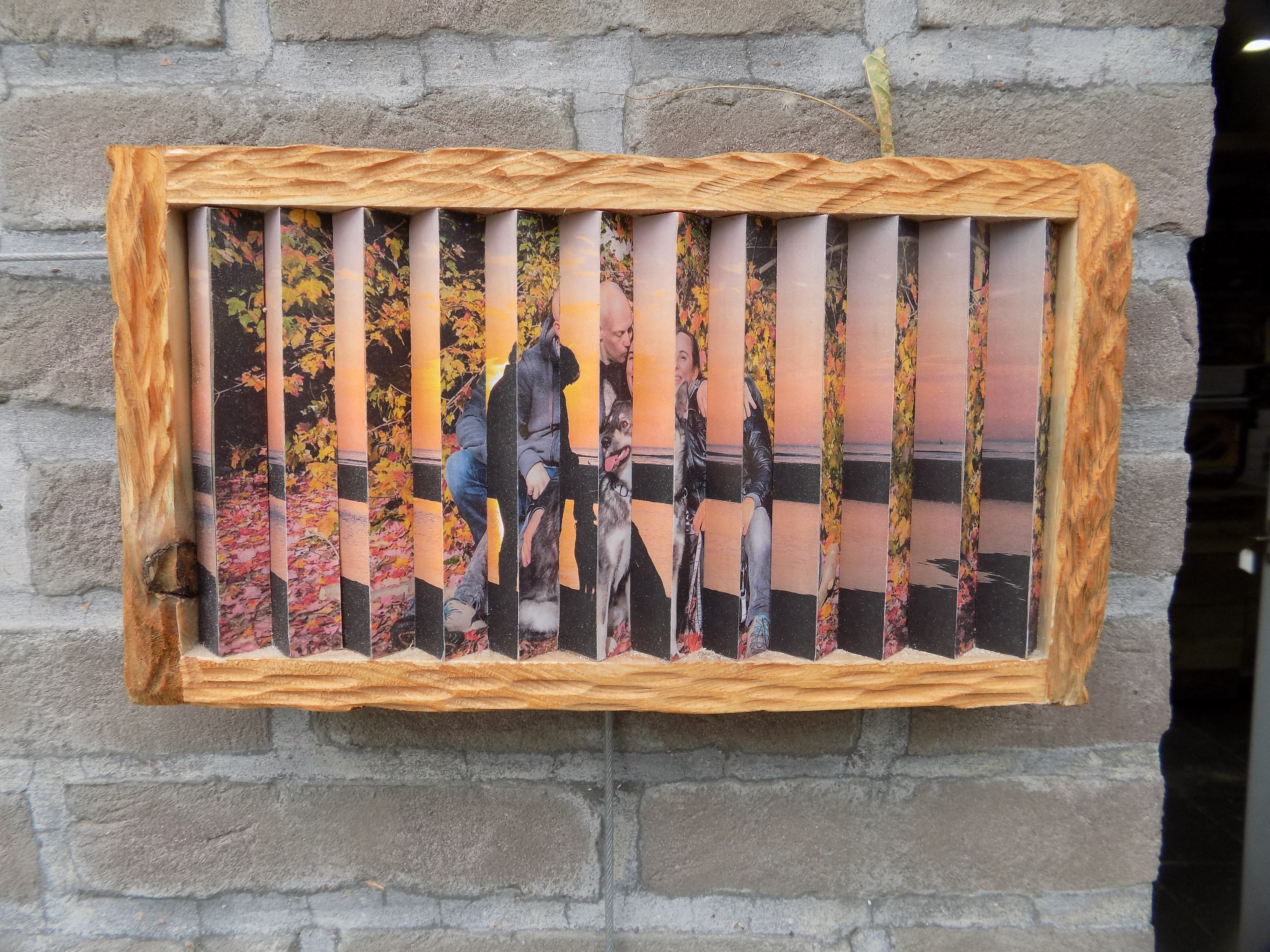 Picture of Harmonica Picture Frame (1frame2pics at Other Angles)