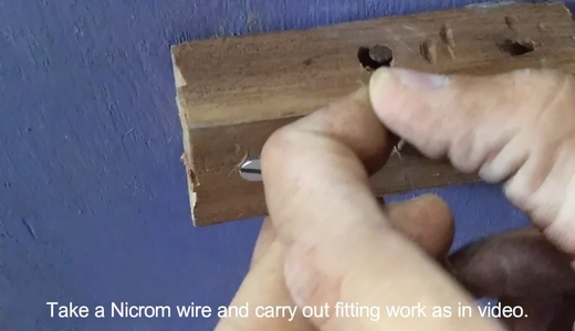 Fitting of Nicrome Wire