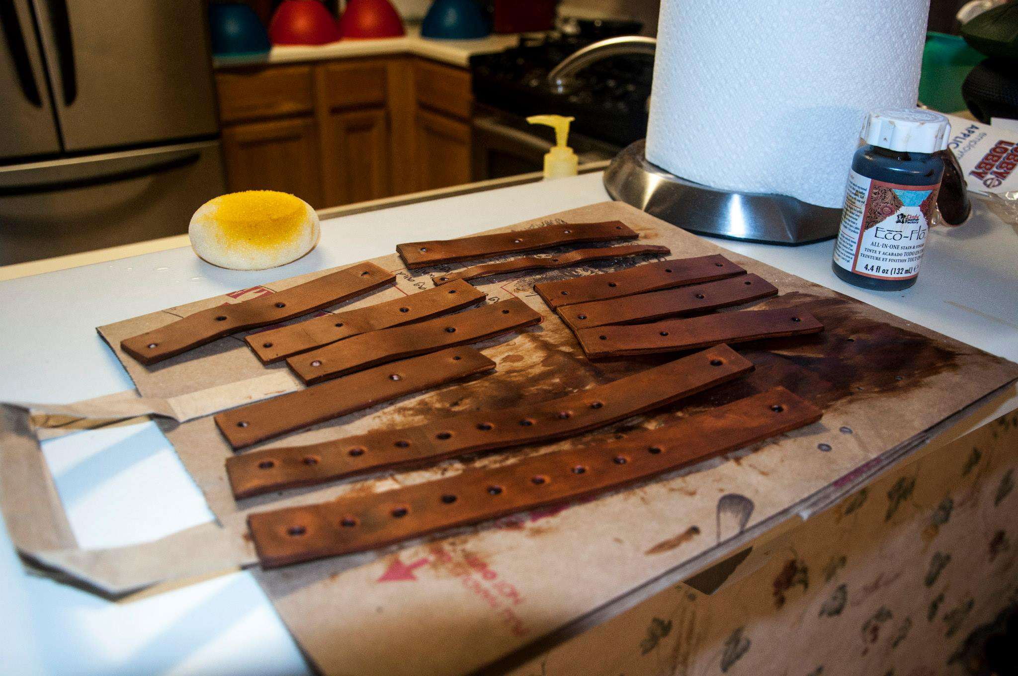 Picture of Leather Dyeing
