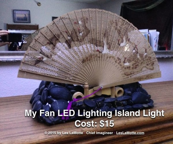 LED Island Fan Lighting