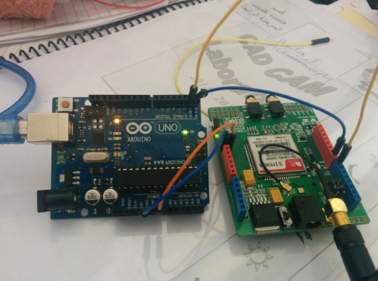 Picture of How to connect a GSM shield with an Arduino uno board?