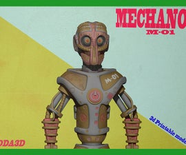 Mechanoid,3d print