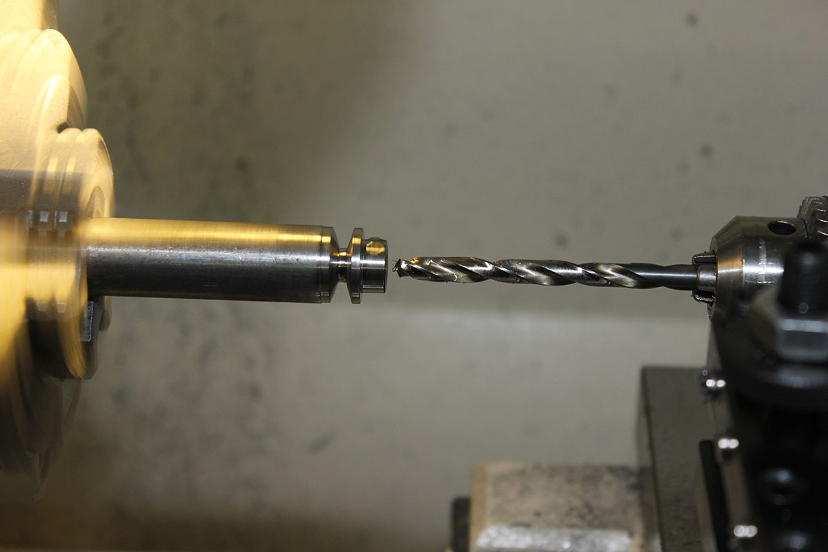Picture of Drill Pulley to Shaft Diameter