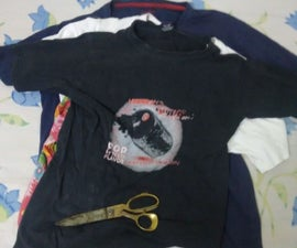 DIY-Old T-shirt Transformed into Dog Toy
