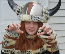 EASY VIKING COSTUME:  No Sewing Involved