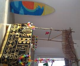 Home Party Hawaiian Tiki Bar