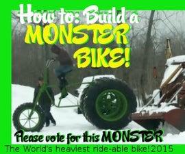 Build a MONSTER BIKE! The World's Heaviest!