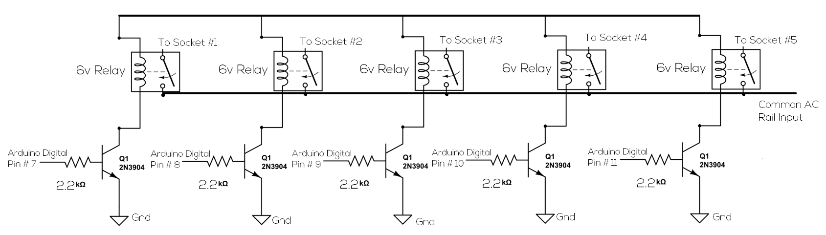 Picture of Construct the Relay Circuit
