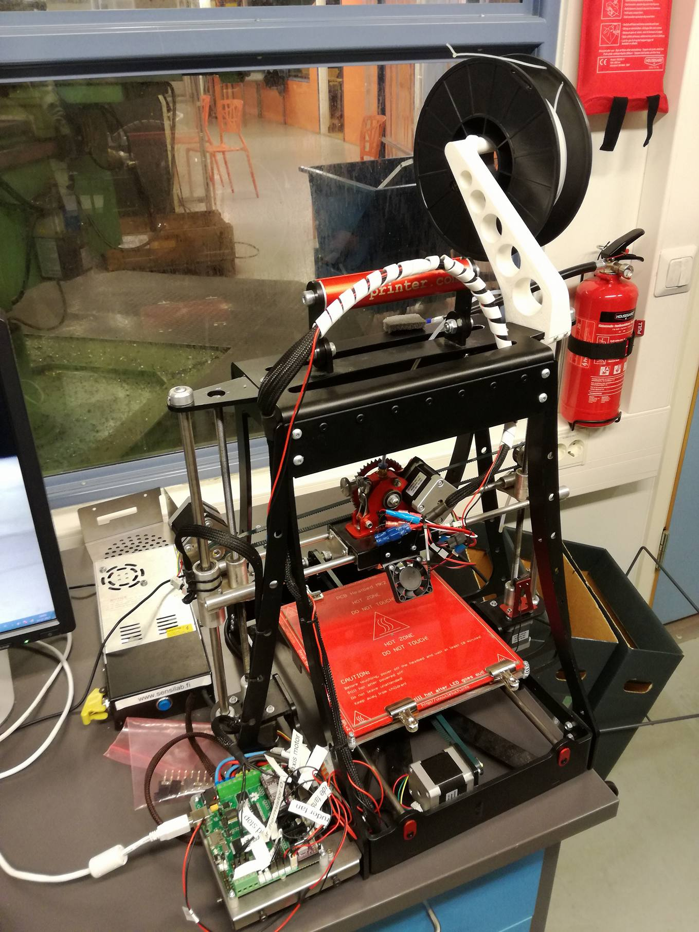 Picture of TUAS CB-printer Marlin Modification
