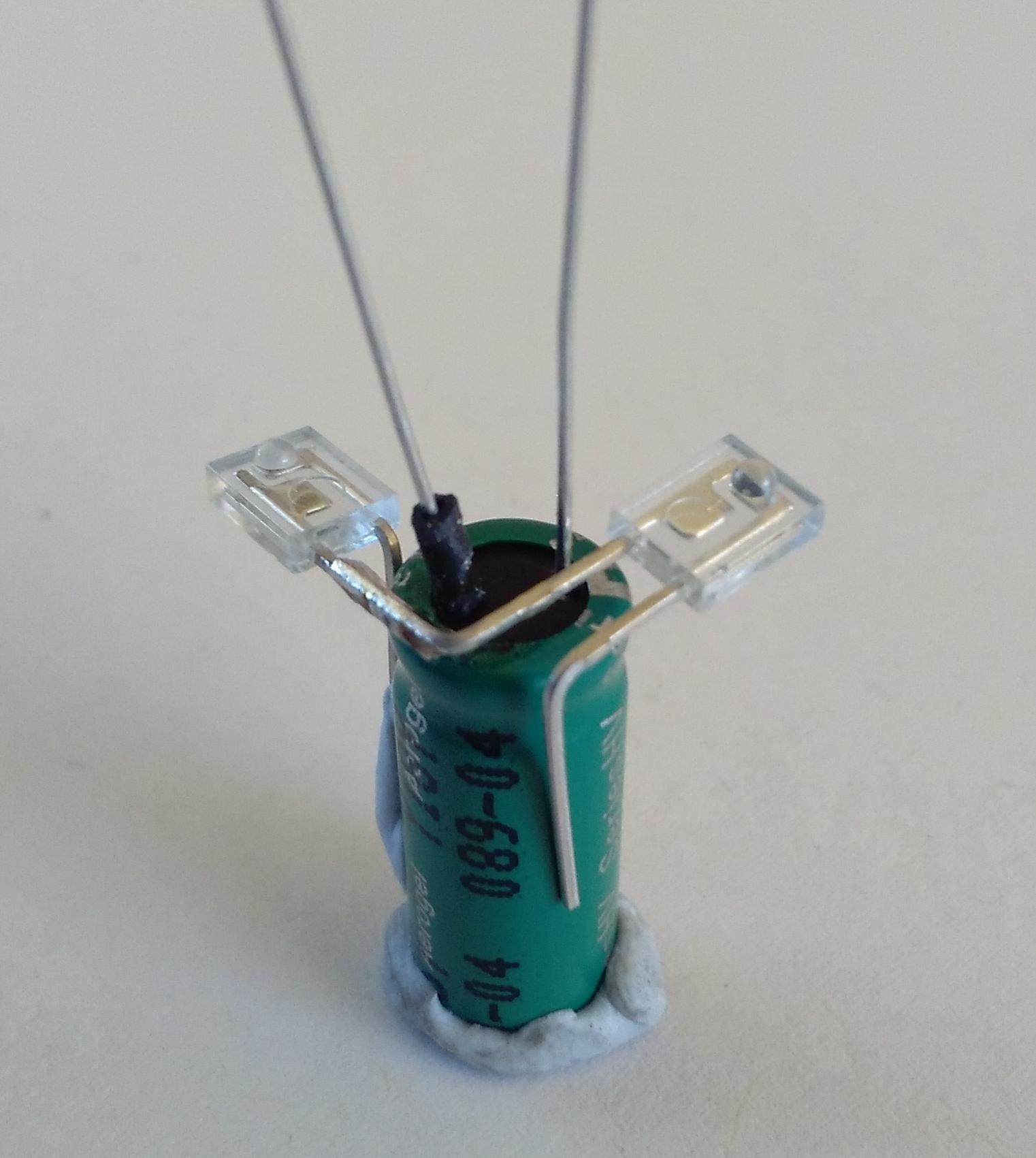 Picture of Building the Bot Unit: Light Sensors