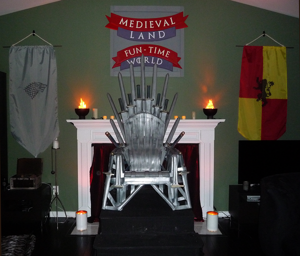 "Make Your Own ""Iron"" Throne"