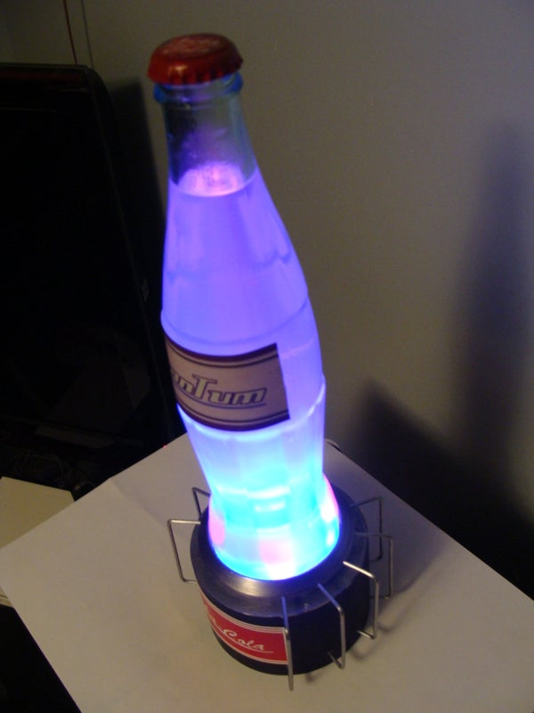 Nuka-Cola Quantum and Nuclear Reactor Display Stand