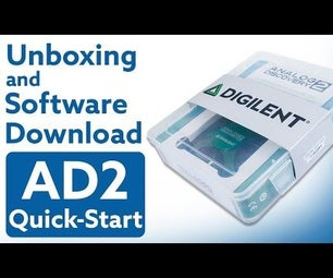 Getting Started With Analog Discovery 2 , USB Oscilloscope, Unboxing