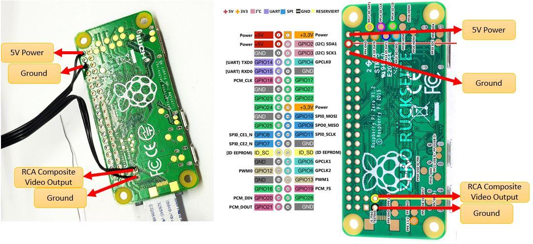 Picture of Connecting Micro-Display to Raspberry-Pi Zero