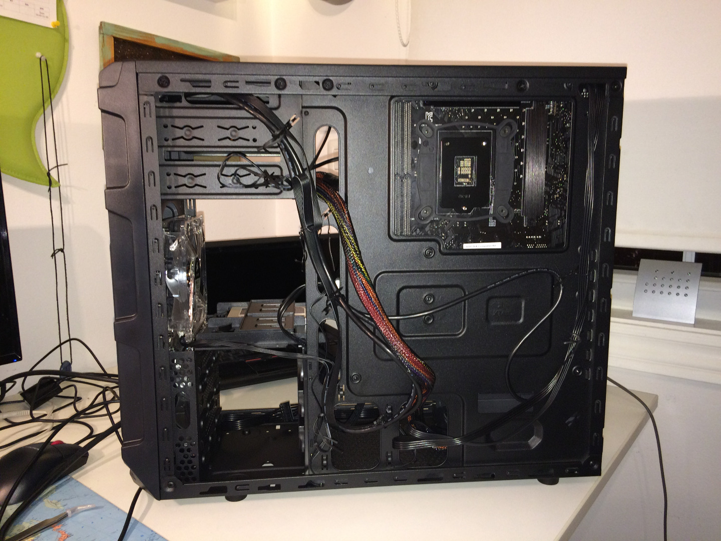 Picture of HDD, Cabling ...